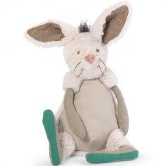 Peluche Neige le lapin Rendez-vous chemin du loup (40 cm)