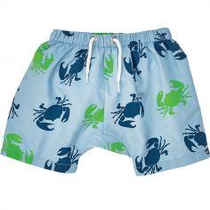 Maillot de bain short Graphic Boy double protection (9-12 mois)