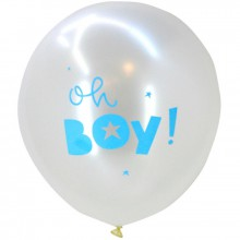 Ballons Oh boy (6 pièces)  par A Little Lovely Company