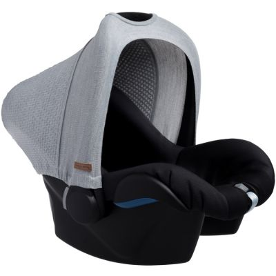 Canopy pour siège auto groupe 0+ grise  par Baby's Only
