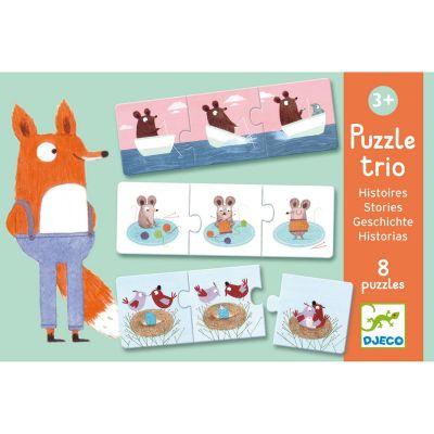 Puzzle trio Histoires (24 pièces)