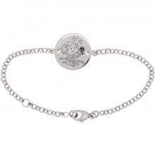 Bracelet Câline 13,5 cm (or blanc 750°)  par La Fée Galipette