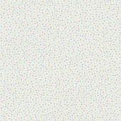 Papier peint Petites fleurs Les jolis pas beaux écru (10 m) - Moulin Roty