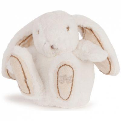 Peluche Augustin le lapin écru (12 cm)  par Tartine et Chocolat