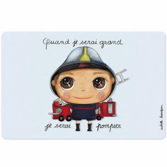 Set de table Je serai pompier