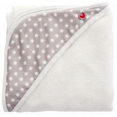 Serviette tablier de bain Papillon étoiles blanches