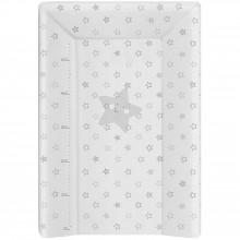 Matelas à langer Luxe avec toise étoiles blanc (50 x 70 cm)  par Babycalin