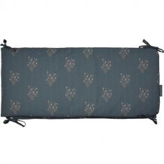 Tour de lit Madeleine bleu prestige (pour lits 60 x 120 cm ou 70 x 140 cm)
