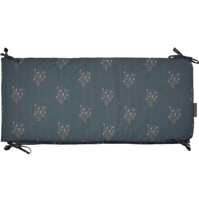 Tour de lit Madeleine bleu prestige (pour lits 60 x 120 cm ou 70 x 140 cm)  par Maison Charlotte