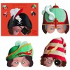 Pack de 4 masques aventuriers - Djeco