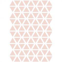 Stickers triangles pétal (29,7 x 42 cm)