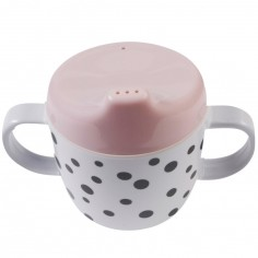 Tasse à bec Dots rose