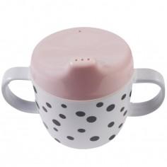 Tasse à bec Dots rose