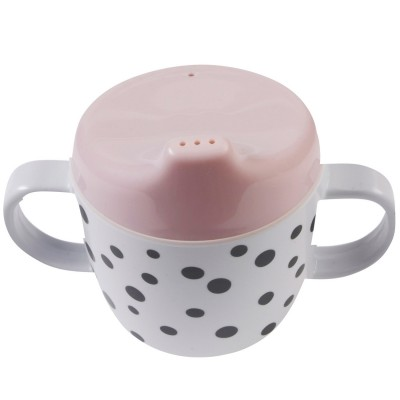 Tasse à bec Dots rose  par Done by Deer