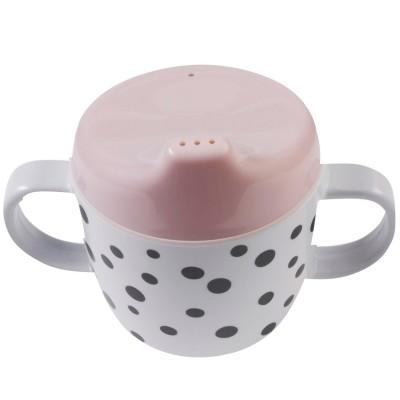 Tasse à bec Dots rose  par Done by Deer