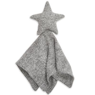 Doudou plat en maille Star lovely heather grey  par aden + anais