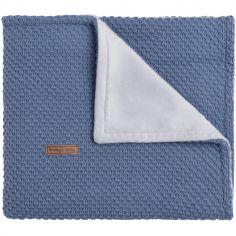 Couverture bleue Flavour (100 x 135 cm)