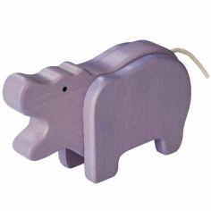 Hippopotame en bambou