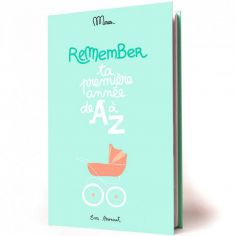 Livre de naissance Ta première année de A à Z, Eva Monnet