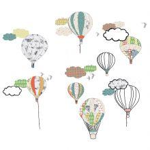 Stickers muraux montgolfières   par Mimi'lou