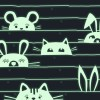 Boîte à bijoux musicale phosphorescente chat  par Trousselier
