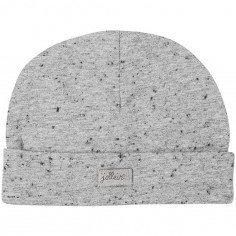 Bonnet en coton Speckled gris