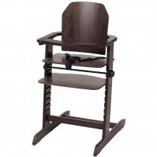 chaise haute volutive magic bois marron fonc geuther. Black Bedroom Furniture Sets. Home Design Ideas