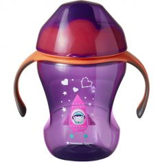 Tasse à bec souple Easy Drink violette et orange (230 ml)