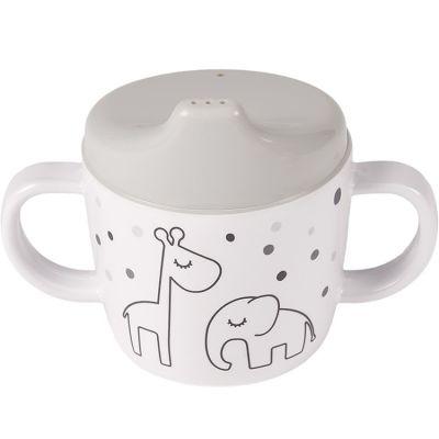 Tasse à bec Dreamy dots gris  par Done by Deer