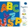38 lettres magnétiques fantaisie  par Djeco