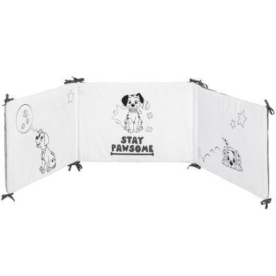 Tour de lit Les 101 Dalmatiens (pour lits 60 x 120 ou 70 x 140 cm)  par Babycalin