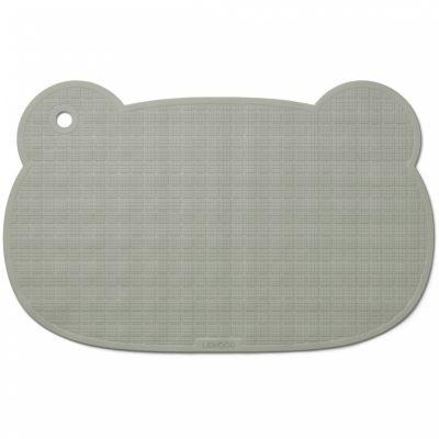 Tapis de baignoire Mr Bear Sailor vert d'eau Liewood
