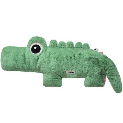 Peluche géante crocodile Croco vert (64 cm)  par Done by Deer