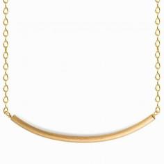 Bracelet chaîne Linear arc (vermeil doré)