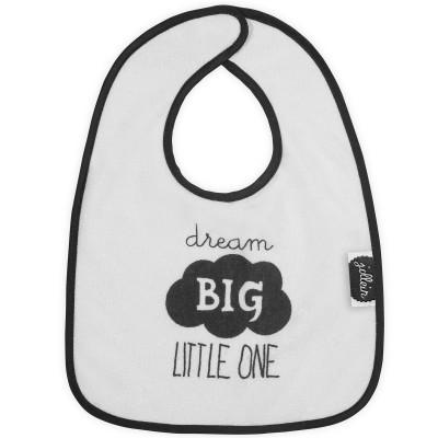 Bavoir à velcro Dream big little one  par Jollein