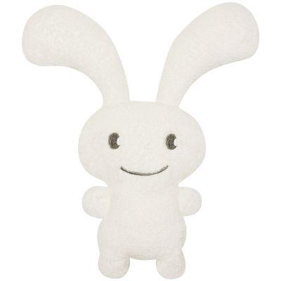 Peluche hochet lapin Funny Bunny ivoire (24 cm)  Trousselier