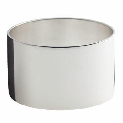 Rond de serviette Mistral (métal argenté)  par Ercuis