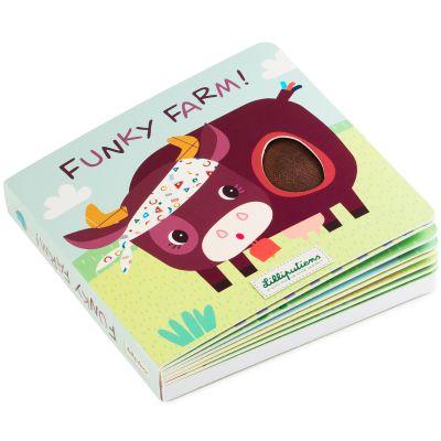 Livre tactile et sonore Funky Farm Lilliputiens