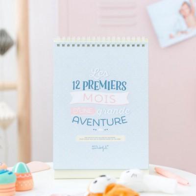 Livre de naissance Les 12 premiers mois d'une grande aventure  par Mr. Wonderful