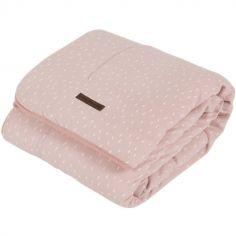 Couverture bébé en coton pure & soft Pink sprinkles (70 x 100 cm)