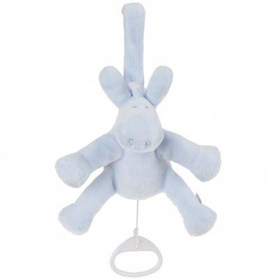 Doudou musical Paco bleu cocon (18 cm) Noukie's