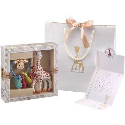 Coffret cadeau hochet coeur Sophie la Girafe Sophiesticated  par Sophie la girafe
