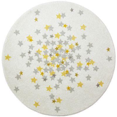 Tapis rond étoile Nova (120 cm)  par Art for Kids