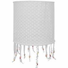 Suspension lampion en tissu Crochet perles  par Taftan