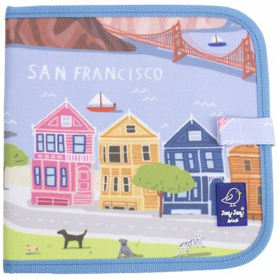 Livre à dessiner San Francisco Cities of Wonder  par Jaq Jaq Bird