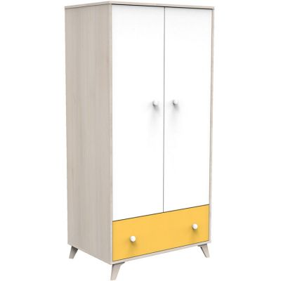Armoire 2 portes et 1 tiroir Yuzu  par Baby Price
