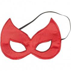 Masque de super-héros rouge Kaya