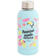 Bouteille isotherme Tropical Vibes (350 ml)