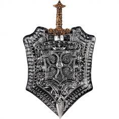 Accessoires de chevalier bouclier et épée Milan