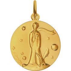Médaille Le Petit Prince par Renée Mayot 18 mm (or jaune 750°)